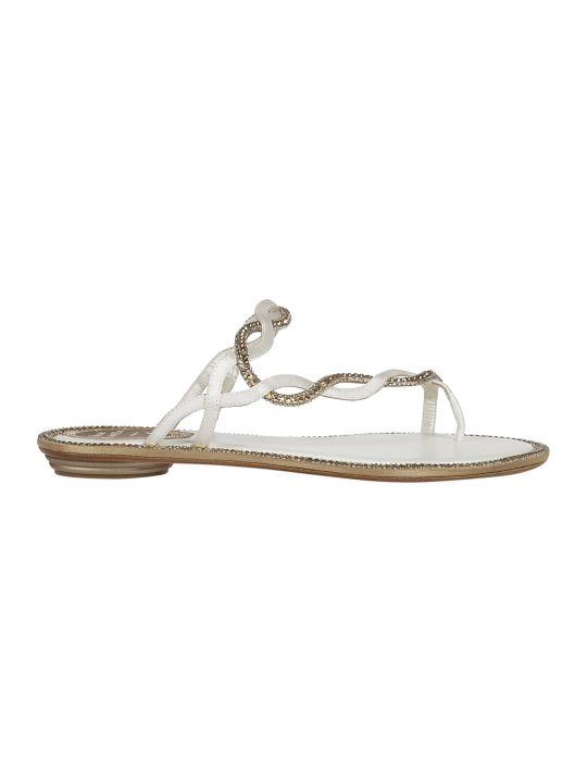 René Caovilla Flat Sandals