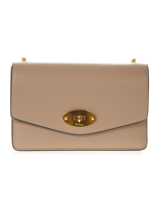 Mulberry Darley Beige Leather Bag