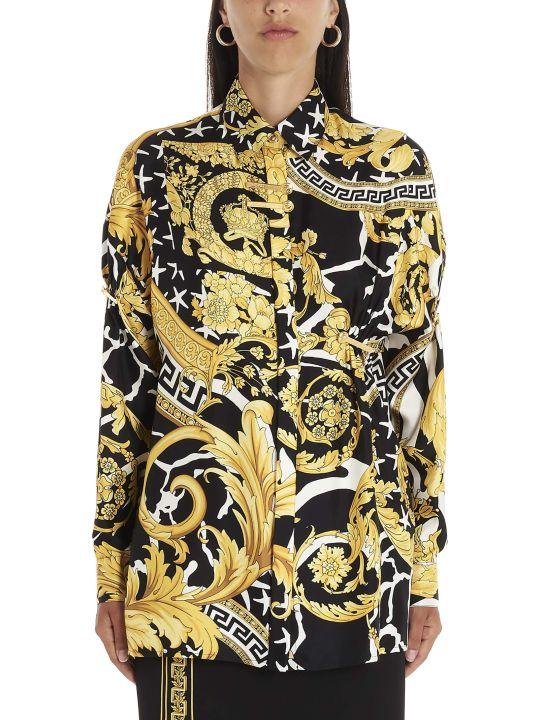 Versace 'wild Barocco' Blouse