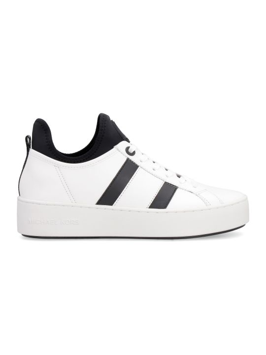 MICHAEL Michael Kors Ace Techno-fabric And Leather Sneakers