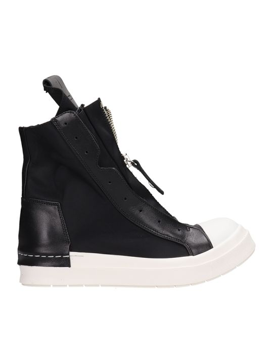Cinzia Araia Zipped Hi-top Sneakers