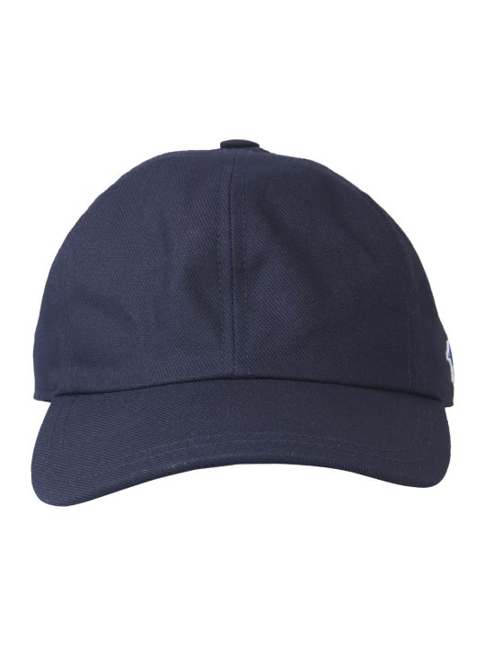 Maison Kitsuné Baseball Cap With Tricolor Fox Patch