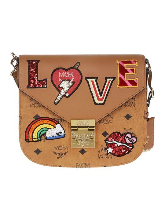 MCM Patricia Love Patch Crossbody Bag