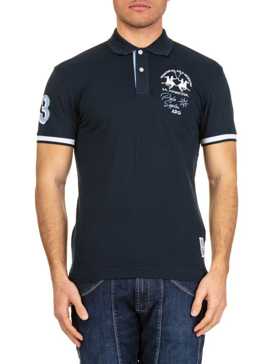 La Martina La Martina Cotton Piquè Polo Shirt