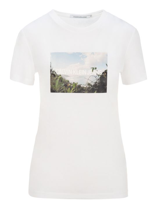 Calvin Klein Jeans Photo And Logo Print T-shirt