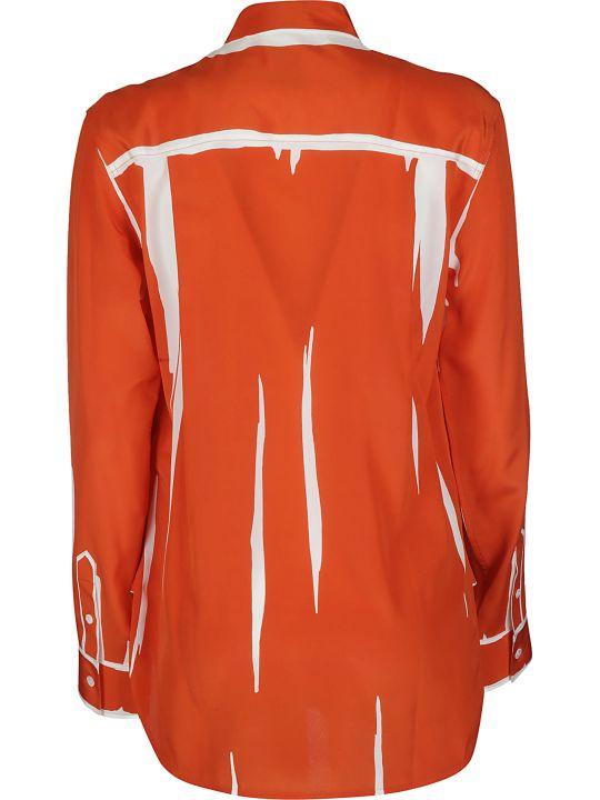 Paul Smith Orange Silk Shirt
