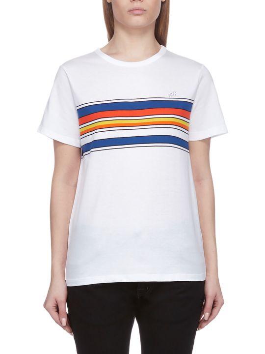 A.P.C. Color Block Stripe T-shirt