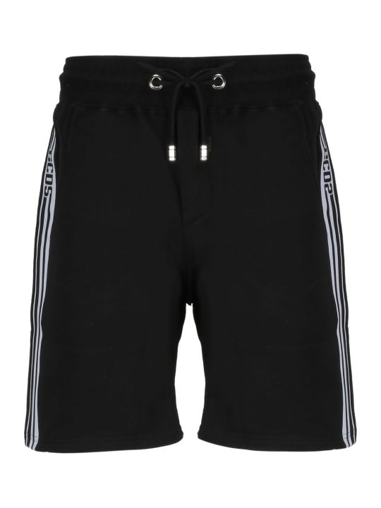 GCDS Logo Stripe Track Shorts