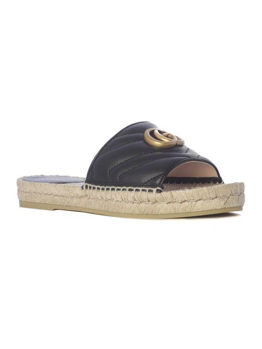 Gucci Pilar Fascia Sandals
