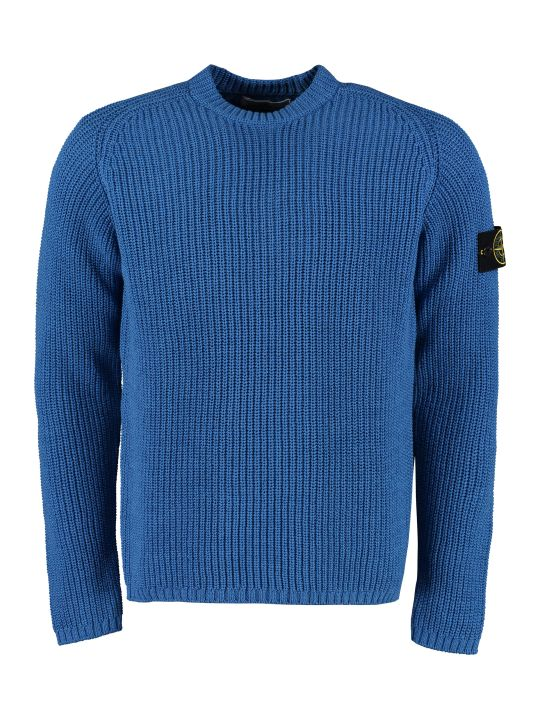 Stone Island Ribbed Cotton Sweater