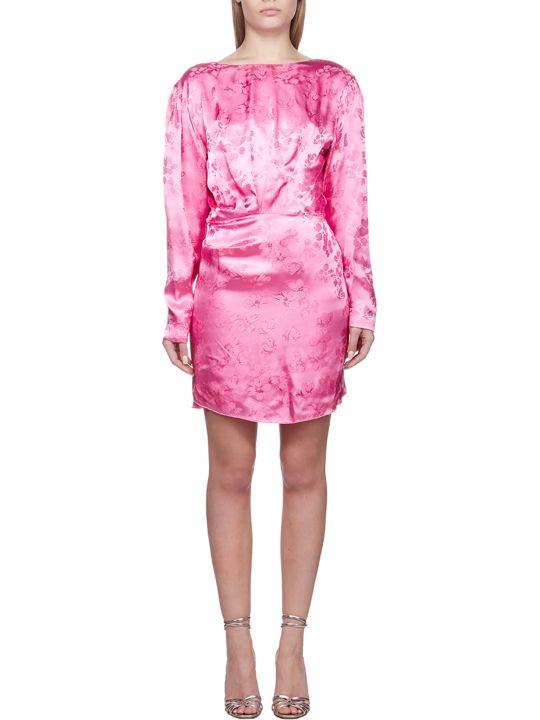 ATTICO Ruched Dress