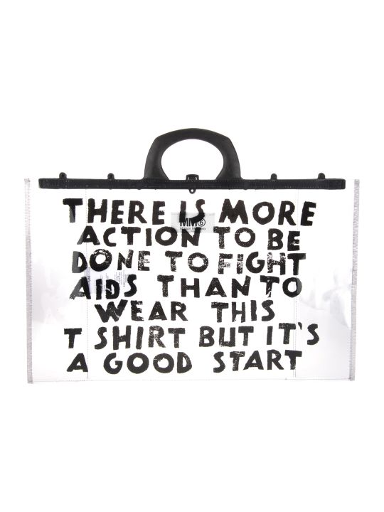 MM6 Maison Margiela Mm6 Shopping Bag Print