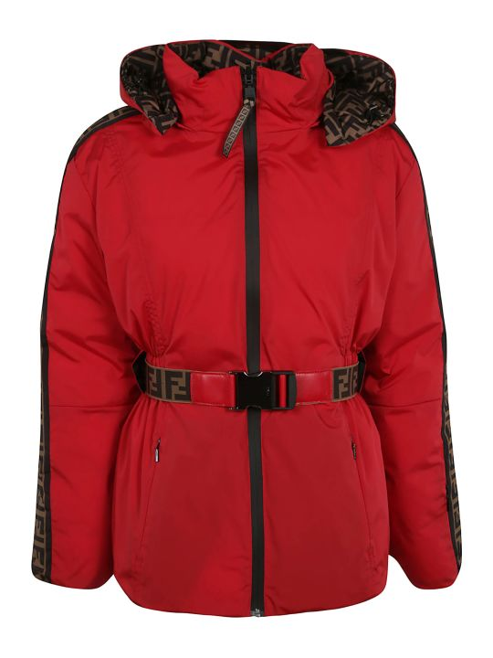 Fendi Belted Zipped Jacket
