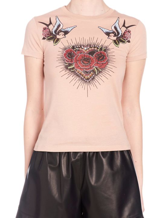 RED Valentino 'tatoo' T-shirt