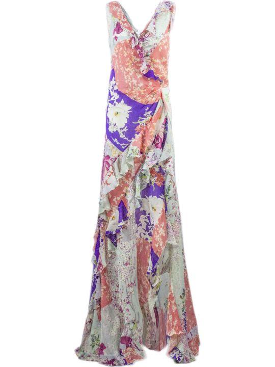 Etro Long Jersey Crepe Dress