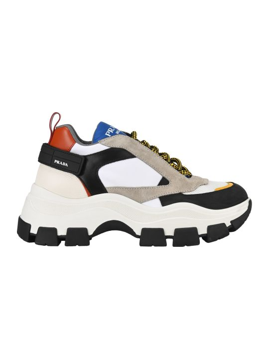 Prada Chunky Sole Sneakers