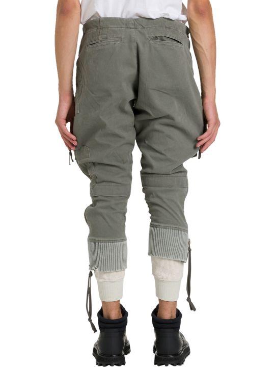 Greg Lauren Army/waffle Pants