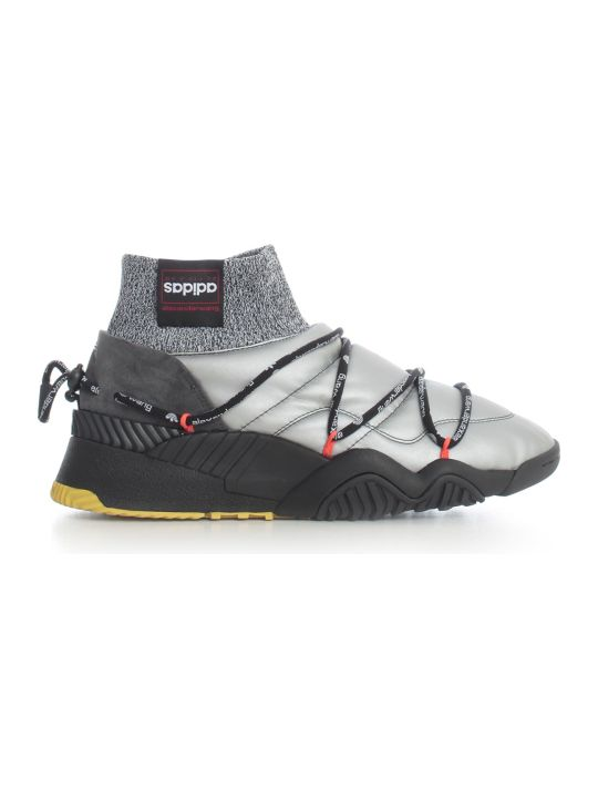 Adidas Originals by Alexander Wang Lace Up Sneakers Silver