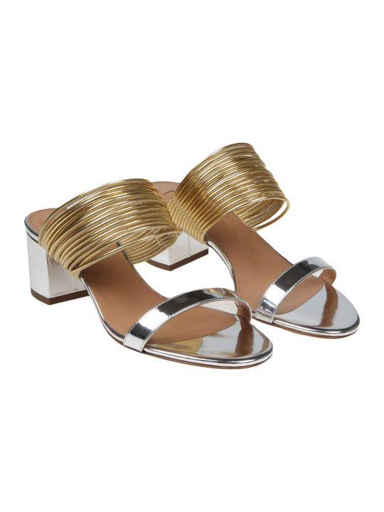Aquazzura Aqua Sandals Rendez Vous Leather