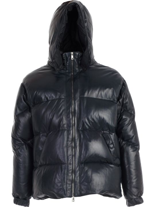 Giorgio Brato Padded Jacket Leather