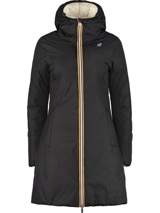 K-Way Charlene Reversible Padded Jacket