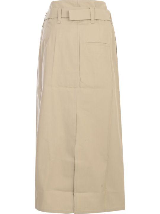 Sofie d'Hoore Belted Straight Midi Skirt