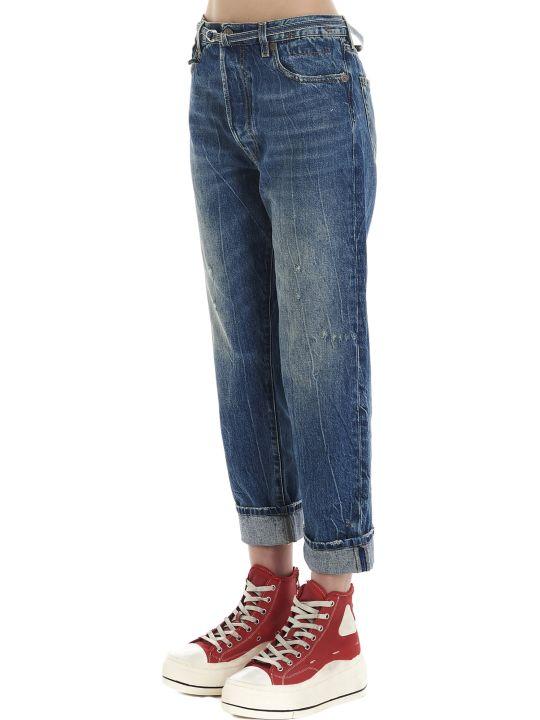 R13 'paperbag Hayden' Jeans
