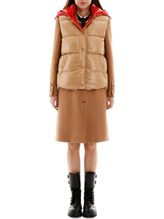 Burberry Coat With Removable Vest