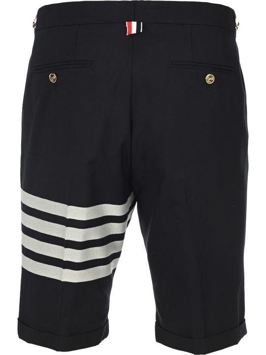 Thom Browne Plain Weave Suiting 4-bar Shorts