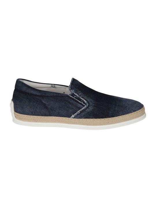 Tod's Slip-on Denim Sneakers
