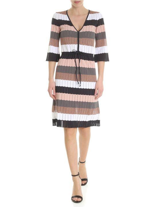 Kangra Multicolor Striped Dress