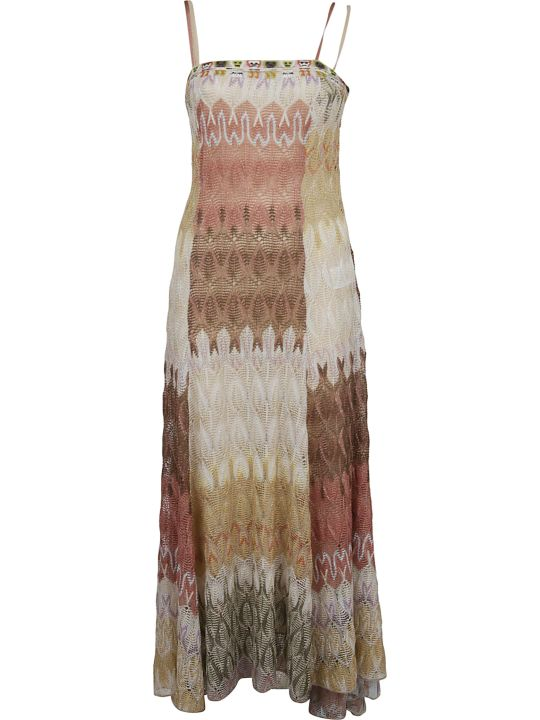 Missoni Long Crochet Dress