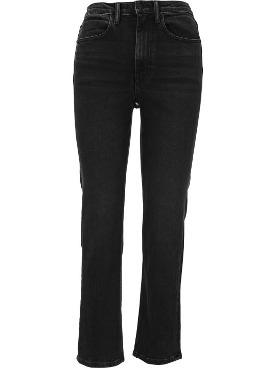 T by Alexander Wang Cult Flex Zipped Straight-leg Jeans