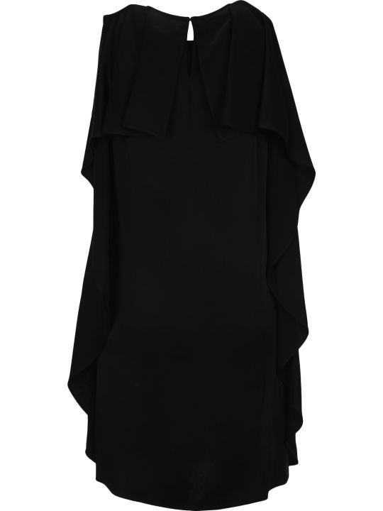 Stella McCartney Pleated Ruffles Short Dress