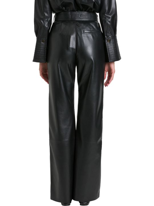 Nanushka Kisa Trousers In Vegan Leather