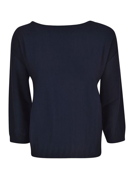 Roberto Collina Square Neck Sweater