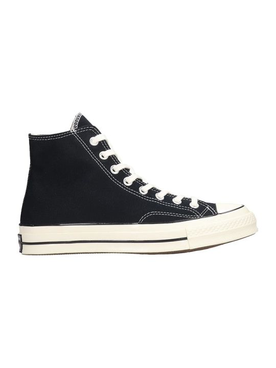 Converse Chuck 70 Sneakers In Black Canvas