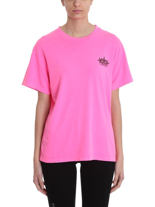 AMIRI Five Star Fucsia Tee