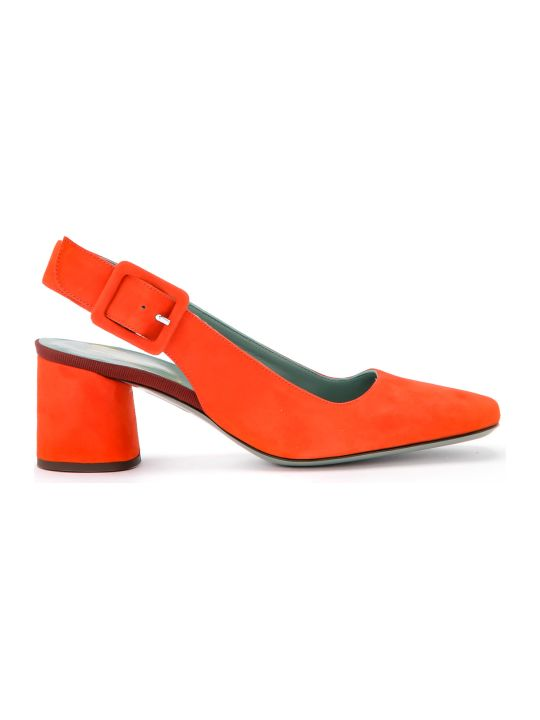 Paola D'Arcano Maddy Coral Suede Chanel