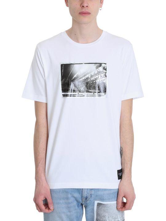 Calvin Klein Rodeo White Cotton T-shirt