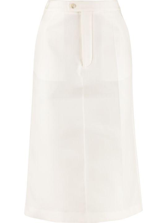 Maison Margiela Cotton-twill Skirt