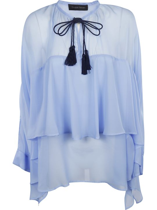 Christian Pellizzari Draped Blouse