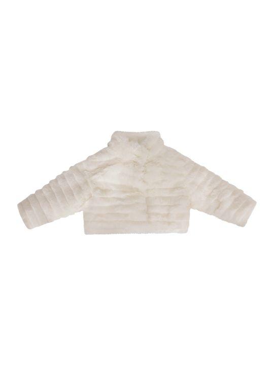 LòLò White Faux Fur Jacket