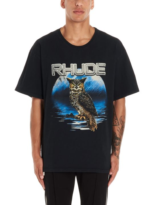 Rhude 'owl' T-shirt
