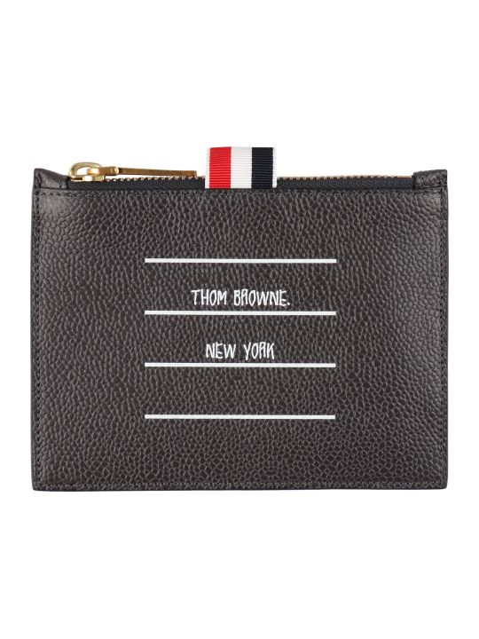 Thom Browne Leather Coin Purse