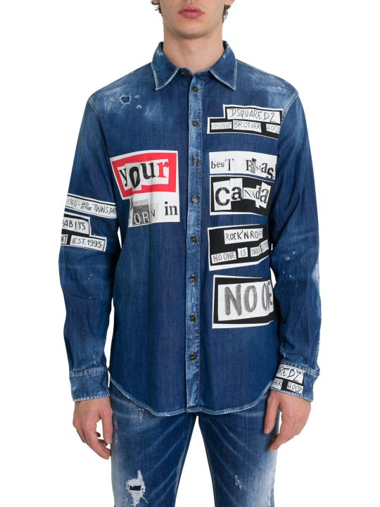 Dsquared2 Ransom Denim Shirt