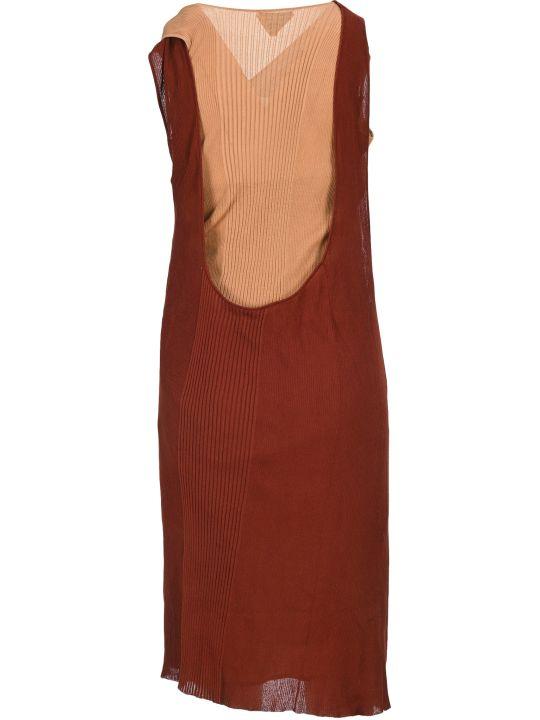 Bottega Veneta Two-tone Knit Dress