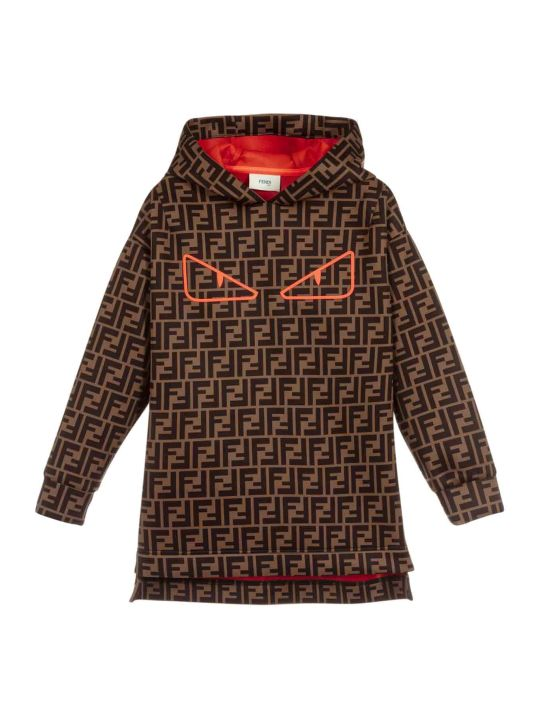 Fendi Girl Sweatshirt Dress