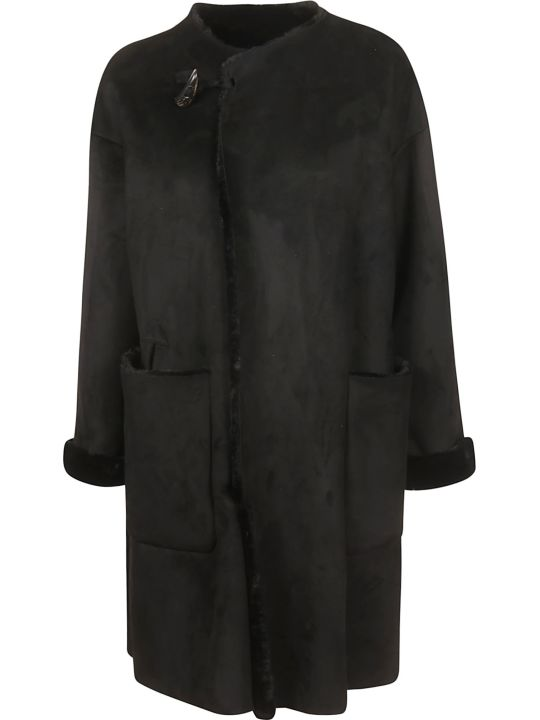 Plantation Oversized Fringed Coat