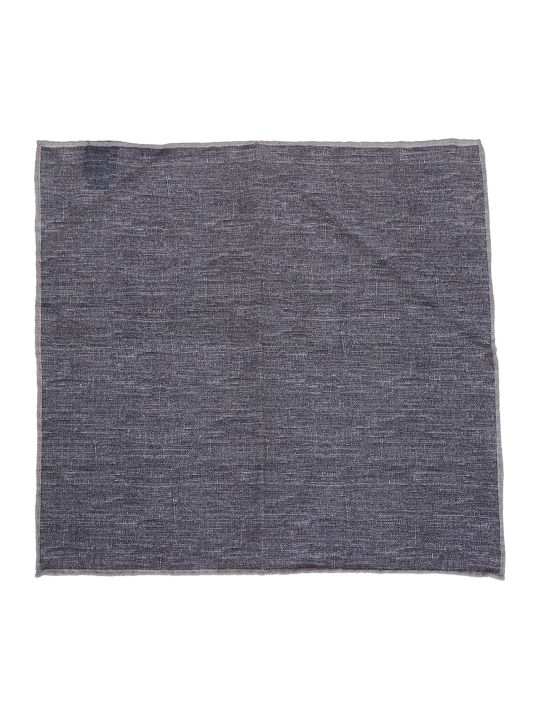 Eleventy Denim Look Scarf